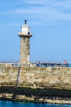 England, Lighthouse, Sky, Red, Blue, Sea #england, #lighthouse, #sky, #red, #blue, #sea