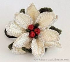 Irish crochet &: Цветы