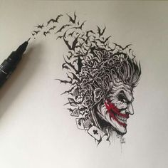 The Joker by Kerby Rosanes