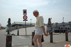 Old Man in Short White Shorts  2010    What can a person say about this Old Man in Short White Shorts? His elegance is too powerful to be categorized