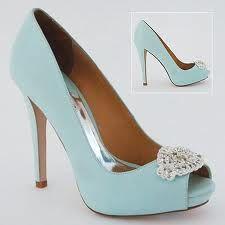 Tiffany blue wedding shoes. Match my bridesmaid dresses. Buying.