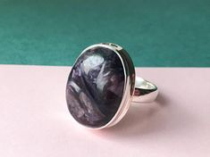 Jewelry & Watches Precise Lepidolite Gemstone 925 Silver Jewelry Adjustable Cuff Easy To Lubricate