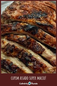 Nesta receita super fácil ensino como deixar bem macio e derretendo na boca! ♥️ Steaks, Brazil, Low Carb, Pasta, Facebook, Meat, Food, Cream Corn Recipes, Roast Recipes