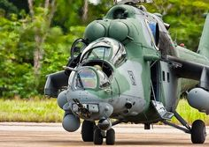 """Brazil will receive it's second batch of six Mil Mi-35s by end of 2014 Russian Rosoboronexport confirmed. In Brazilian service the """"Hind"""" designated AH-2 """"Sabre"""". In all 12 have been ordered and first 6 already delivered."""