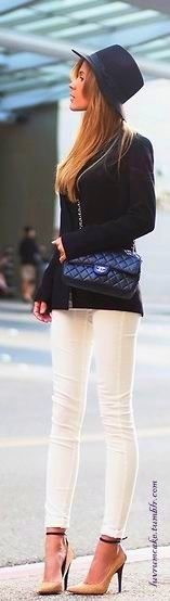 street style in chanel