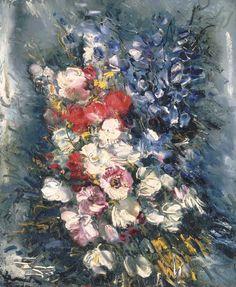 Fleurs, Maurice de Vlaminck. (1876 - 1958)