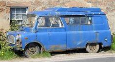 abandoned bedford van