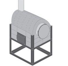 Solo te bastará usar un tambor y unos cuantos ladrillos para construir tu propio horno casero (+Planos) - Bricolaje Facil para todos Barbacoa, Cabana, Ideas Para, Barrel, Diy And Crafts, Bbq, Oven, Furniture, Home Decor