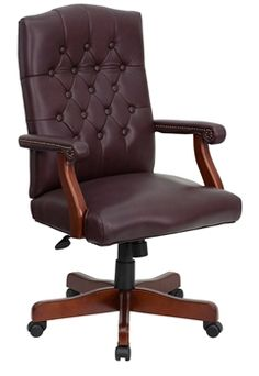 gardena sloped arm dining chair. flash furniture leather executive chair - traditional comfort / padded, tufted back gardena sloped arm dining r