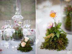 The Foundry Wedding Photography   terrarium centerpieces   www.katiemblog.com