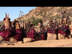 Dogon's Ritual Dance - YouTube