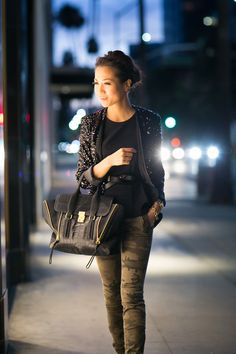 Sparkle at Dusk :: Sequin jacket