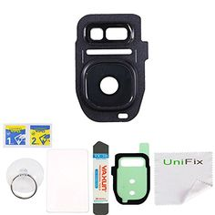 Unifix Back Rear Camera Glass Lens Cover Replacement Part for Samsung Galaxy S7 SM-G930 S7 Edge G935 + Tool Kit - Black  http://topcellulardeals.com/product/unifix-back-rear-camera-glass-lens-cover-replacement-part-for-samsung-galaxy-s7-sm-g930-s7-edge-g935-tool-kit/?attribute_pa_color=black  Brand New – High Quality Back Rear Camera Glass Lens Cover Ring Replacement + Adhesive Compatibility: Samsung Galaxy S7 G930 / S7 Edge G935 (All Carriers) This will resolve damaged