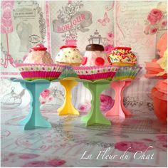 La fleur du chat: Muffin e cake design si uniscono per regalare un d...