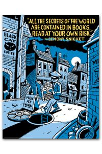 Read at your Own Risk Poster - New Products - Posters - Products for Young Adults - ALA Store