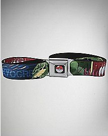 Kygore Mega Groudon Pokemon Seatbelt Belt