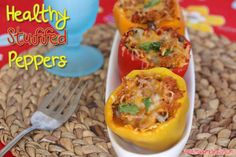 Healthy Stuffed Peppers #JDCrumbles - Madame Deals, Inc.