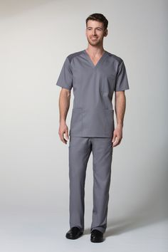 935792bcc9d Our EON mens scrub top has all the necessities for any guy in the medical  industry
