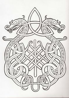 odin tattoo vikings norse mythology ~ odin tattoo + odin tattoo vikings + odin tattoo sleeve + odin tattoo symbols + odin tattoo design + odin tattoo vikings norse mythology + odin tattoo for women + odin tattoo drawings Norse Tattoo, Celtic Tattoos, Viking Tattoos, Viking Dragon Tattoo, Tattoo Symbols, Celtic Knot Tattoo, Tattoo Wolf, Celtic Patterns, Celtic Designs