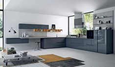 : An overview of the fantastic Doimo kitchens offered by the London Kitchen Store, an Italian range that ranks as one of our most popular products. Fenix Ntm, High Gloss Kitchen, Home Goods Decor, Home Decor, Kitchen Gallery, Kitchen Store, Design Moderne, Cuisines Design, Interior Design Inspiration