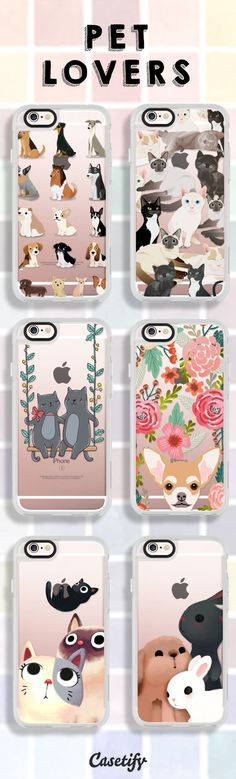 For you #PetLovers - www.casetify.com/...