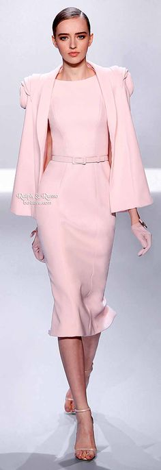 Easter Outfit (Ralph & Russo Spring 2014 Haute Couture).