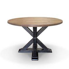Belfort Select Karlin Round Single Pedestal Dining Table