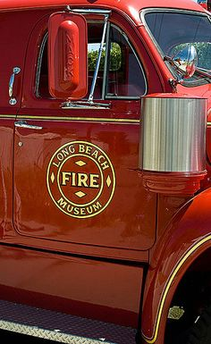 Long Beach Firefighters Museum - Long Beach - Open Wednesdays 7:30-11:45 - Free - snack tables not available; restrooms available