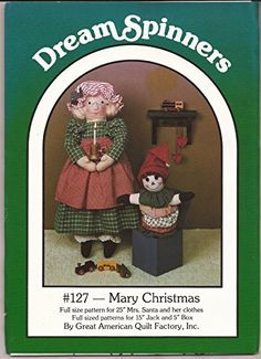 Mary Christmas - Great American Quilt Factory Dream Spinn... https://www.amazon.com/dp/B00R86PC7K/ref=cm_sw_r_pi_dp_x_TO5mybG6TD8N6