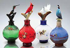 Art Glass Perfume Bottles by Chris Pantos