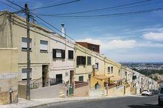 housing in portugal --  view of casal das figueiras neighbourhood, setúbal, portugal, 2014