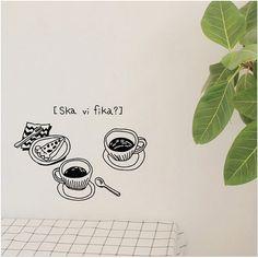 Ska vi FIka Coffee Break Tea Time Graphic by verryberrysticker, $14.99