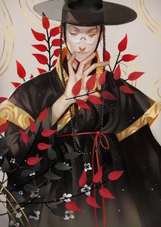 DrawCrowd@-艾-绿-采集到中日韩系-男性篇(465图)_花瓣游戏