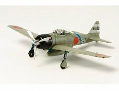 The Tamiya Mitsubishi A6M3 (Hamp) Zero Fighter Model Kit in 1/72 scale from the Tamiya plastic aircraft model kits range accurately recreates the real life Japanese fighter aircraft flown during World War II.