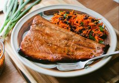 Citrus and Ginger Grilled Salmon