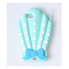 Valfre Mint 3D Shell Silicone iPhone 6/6S Case | Unique Vintage (£29) ❤ liked on Polyvore featuring accessories and tech accessories
