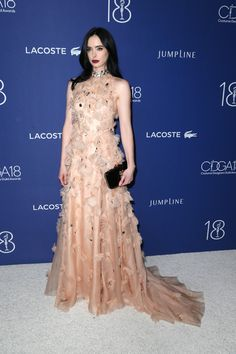 Krysten Ritter Photos Photos - Actress Krysten Ritter attends the 18th Costume Designers Guild Awards with Presenting Sponsor LACOSTE at The Beverly Hilton Hotel on February 23, 2016 in Beverly Hills, California. - 18th Costume Designers Guild Awards - Arrivals And Red Carpet
