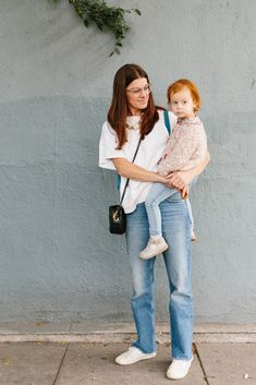 The best mama and kid Echo Park Craft Fair street style looks!