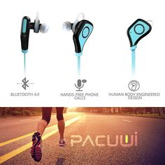 Advanced Technology: With bluetooth 4.0 and apt-X tech, the headphones ensure high-fidelity stereo music and clear speech within 10 meters. Invisible nano-coating technology protect earbuds against sweat during running and workouts.