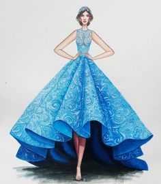 Best fashion sketches dresses art inspiration ideas Source by mistymorrning dress sketches Dress Design Sketches, Fashion Design Drawings, Fashion Sketches, Dress Illustration, Fashion Illustration Dresses, Fashion Illustrations, Fashion Sketchbook, Sketchbook Ideas, Fashion Drawing Dresses