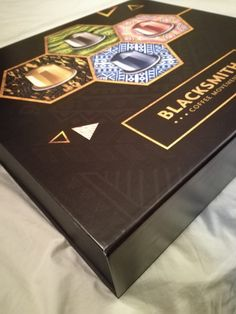 A glossy Flip lid gift box