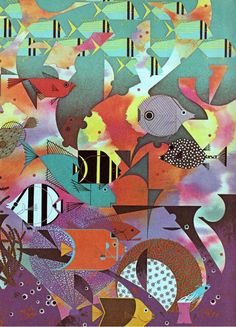 my vintage book collection (in blog form).: The Animal Kingdom - illustrated by Charley Harper: