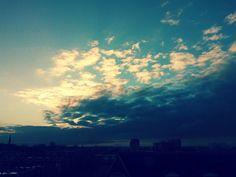 zonsopkomst boven #utrecht