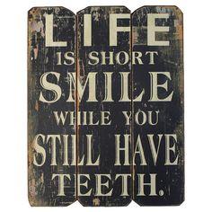 Smile Wall Decor