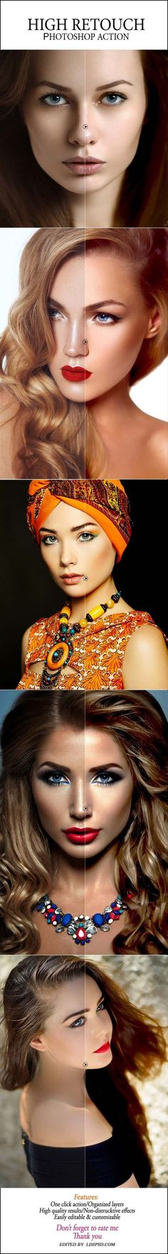 High Retouch Creative Photoshop Action