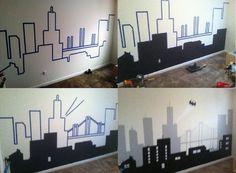 My Batman/Gotham City Wall Mural