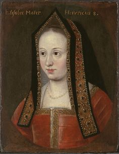 Elizabeth of York, daughter of Edward IV and Elizabeth Woodville. She bacame the wife of Henry Tudor, uniting both the House of York and House of Lancaster.