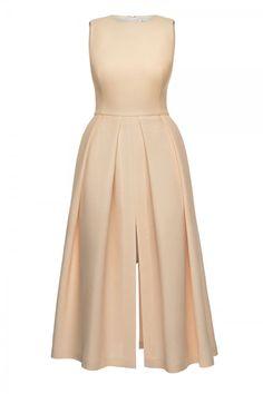 Kristina Fidelskaya Sleeveless Midi Pleated Dress, £789