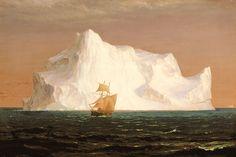 Frederic Edwin Church | Dexedrina: Frederic Edwin Church (icebergs)
