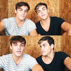 You like the Dolan twins? Sameee Pinterest : @fijminfish